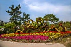 Yangzhou spenslig västra sjöträdgård Royaltyfri Foto