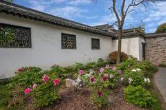 Yangzhou u. x22; der erste Park Ende Qing Dynastys u. x22; --- Er arbeitet im Garten Stockbilder