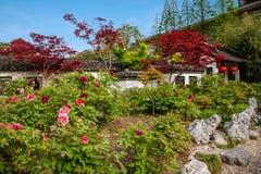 Yangzhou u. x22; der erste Park Ende Qing Dynastys u. x22; --- Er arbeitet im Garten Stockfoto