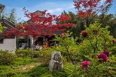 Yangzhou u. x22; der erste Park Ende Qing Dynastys u. x22; --- Er arbeitet im Garten Lizenzfreie Stockfotos