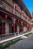 Yangzhou u. x22; der erste Park Ende Qing Dynastys u. x22; - Ho Park-Gebäude Lizenzfreies Stockbild