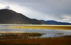 yangzhuoyongcuo του Θιβέτ λιμνών στοκ φωτογραφία με δικαίωμα ελεύθερης χρήσης