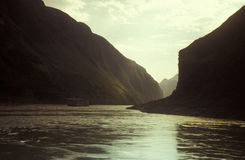 Yangzi flod Royaltyfri Fotografi