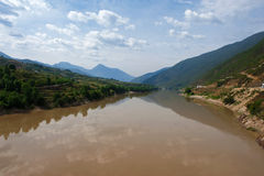 Yangzi river in China Stock Images