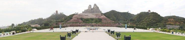 Yanhuang两皇帝 免版税库存图片