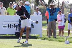Yani Tseng at the ANA inspiration golf tournament 2015 Stock Photography