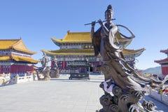 Yanjiao Temple royalty free stock photo