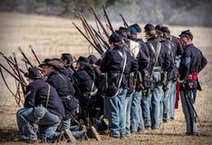 Yankee Battleline Stock Photography
