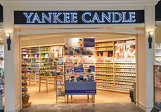 Yankee Candle bootique Royalty Free Stock Photography