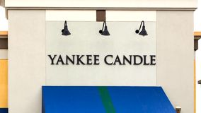 Yankee Candle Company Retail Store Exterior stock video footage