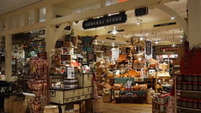 Yankee Candle Village in Williamsburg, Virginia Royalty Free Stock Images