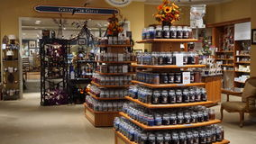 Yankee Candle Village in Williamsburg, Virginia Royalty Free Stock Image