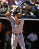 Yankee di Derek Jeter New York fotografia stock