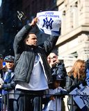Yankee Parade - CC Sabathia Royalty Free Stock Images