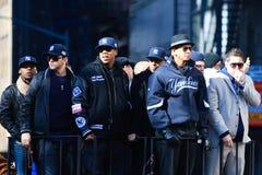 Yankee Parade - A Rod & Jay Z Stock Photo