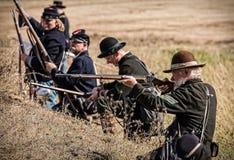 Yankee Sharpshooters Stock Photo