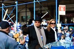 Yankee-Sieg-Parade - Reggie Jackson Stockbild