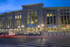 Yankee Stadium Stock Photo