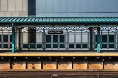 Yankee Stadium-Bahnstation NYC Stockfotografie