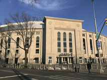 Yankee Stadium in de loop van de dag in Bronx Royalty-vrije Stock Foto's