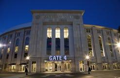 Yankee Stadium i Bronxen New York Arkivbild