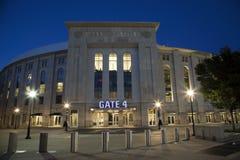 Yankee Stadium im Bronx New York stockfotos