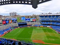 Yankee Stadium. The new modern Yankee Stadium, New York City Stock Photo