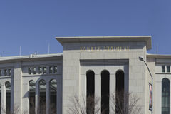 Yankee Stadium. An outer view of New York Yankees Stadium Stock Photography