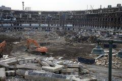Yankee Stadium viejo Fotos de archivo libres de regalías