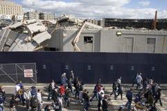Yankee Stadium viejo Fotografía de archivo