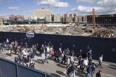 Yankee Stadium viejo Imagen de archivo libre de regalías