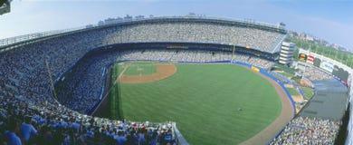 Yankee Stadium, yankee di NY v Tampa Bay, New York immagine stock