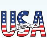 yankees διανυσματική απεικόνιση