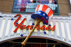 Yankees Clubhouse New York City Royalty Free Stock Photo