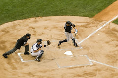 Yankees contre Toronto Blue Jays Images stock
