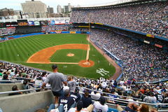 The Yankees are at home playing against Tigers Stock Photography
