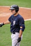 Yankees Jésus Montero de barre de Scranton Wilkes Photos libres de droits