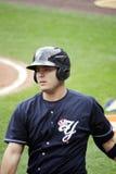 Yankees Jésus Montero de barre de Scranton Wilkes Photos stock