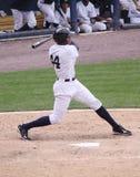 Yankees Justin Maxwell de barre de Scranton Wilkes Photographie stock libre de droits