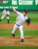 Yankees pichet, Phil Hughes, novice Photo stock
