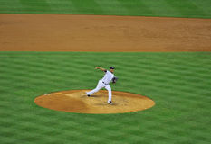 Yankees pitcher Ivan Nova on the mound Stock Photos