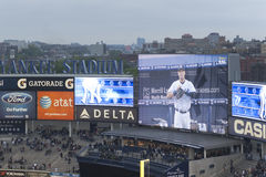 Yankees Stadium Screens Stock Image