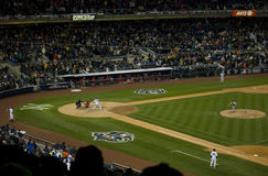 Yankees Teixeira 2009 ALCS Royalty Free Stock Photos
