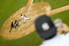 Yankees versus de Blauwe Vlaamse gaaien van Toronto Royalty-vrije Stock Foto's