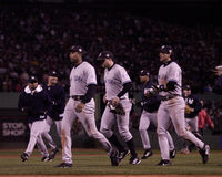 Yankees win Game 5 of 2003 ALCS. Royalty Free Stock Photography