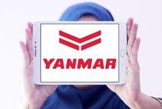 Yanmar diesel engine manufacturer logo. Logo of Yanmar company on samsung tablet holded by arab muslim woman. Yanmar is a Japanese diesel engine manufacturer Royalty Free Stock Images