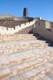 Yanmen Pass Great Wall Royalty Free Stock Photos