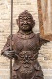 Yanmen przepustka wielki mur statua obraz stock