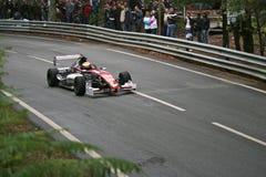 Yann Hèche racing at Rampa da Falperra 2012 Royalty Free Stock Photos