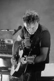 Yann Tiersen, Francuski muzyk, występ przy Barts jeleniem Zdjęcia Stock